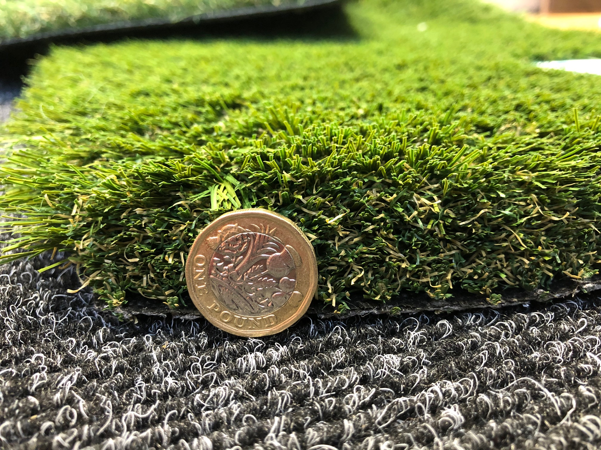 4m x 4m 40mm Artificial grass Rollend
